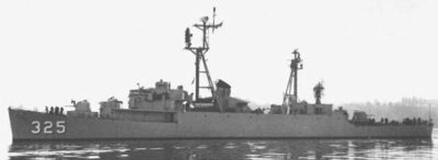 Destroyer escort radar
